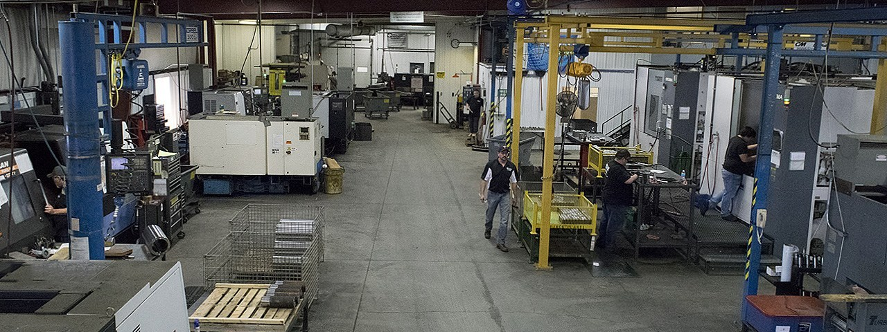 Inside the shop at Mill Creek Machining
